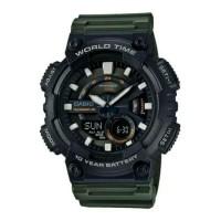 Casio Original AEQ-110W jam tangan pria sporty