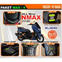 PAKET BODY PROTECTOR ALL NEW NMAX 2020 - PAKET PELINDUNG BODY NEW NMAX - Hijau