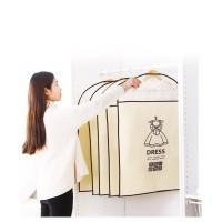 Cover baju gantung Cloth Dust cover gaun suit Storage Bags Organizer