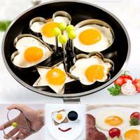 Cetakan kue telur stainless steel karakter