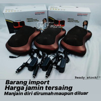 Alat Pijat elektrik/Shiatsu Leher/ Bantal Pijit/ Car Massage Pillow