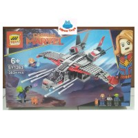 lego Avengers pesawat captain marvel and the skrull attack sy 1263