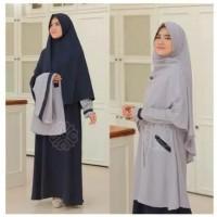 Elbina set pakaian wanita dress fashion muslim