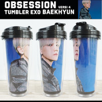 TUMBLER EXO OBSESSION VERSI 4 / Merchandise KPOP Unofficial Tumblr