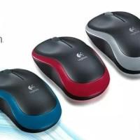 Mouse Wireless Logitech M185 Bergaransi Resmi Terbaik & Murah
