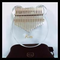HOT SALE Alat Musik Kalimba Mbira Acrylic Hardcase Original 17 Keys