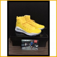product sepatu basket curry 4 yellow minion