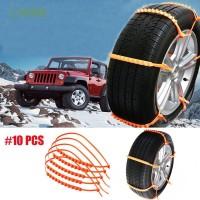 CHINK 10Pcs Hot Car Accessories Truck Wheel Vehicles Antiskid Chain