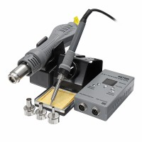 NFS YAOGONG 8878D 2 In 1 SMD Rework Soldering Station Hot Air