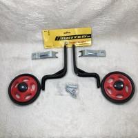 Roda Samping 12 16 18 United Training Wheel Roda Bantu Sepeda Anak