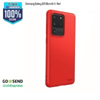 Ringke Samsung Galaxy S20 Ultra Air S Red Slim Anti Crack Softcase