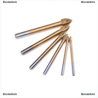 4-12mm Titanium Coated Drill Bit Alloy Carbide Point Tile Glass Bit