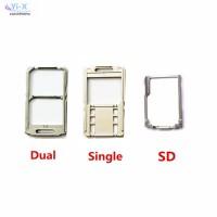 Memory Card Reader Dual Single SIM Micro SD Untuk Sony Xperia M5