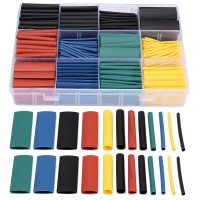 NFS 530 PCS Halogen-Free 2:1 Heat Shrink Tubing Wire Cable