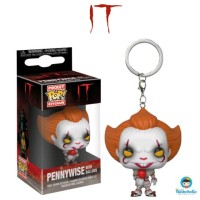 Funko Pocket POP! Keychain Movies Horror IT - Pennywise with Balloon