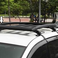 rak atas mobil Paket Plastik Universal Rack Roof Rack Rak Bagasi mob