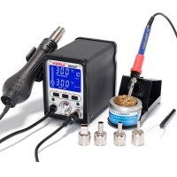 NFS YIHUA 995D 2 In 1 Soldering Station Hot Air Gun Soldering