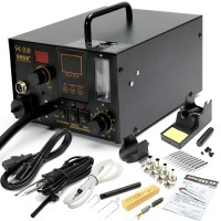 NFS 968A+ 4 in1 220V Digital Hot Air Rework and Soldering