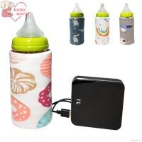 Bbworld Sarung Penghangat Botol Susu Bayi Portable Motif Kartun unt TG