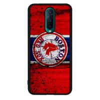 Hardcase Casing Oppo R17 Pro Boston Red Sox Grunge Baseball Clu