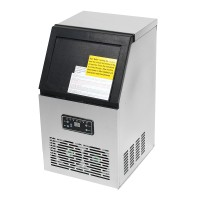 NFS 110Lbs Auto Commercial Ice Cube Maker Machine Stainless
