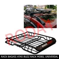 Roof Rack - Rak Bagasi Atas Mobil Besi Model BUZZ RACK Universal