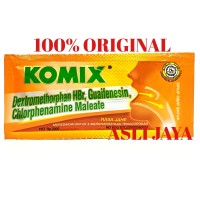 Komix OBH (Rasa Jahe) - Obat Batuk