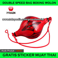 DOUBLE SPEED BAG BOXING WOLON, REFLEX BALL BOXING, SPEED PUNCHING BALL