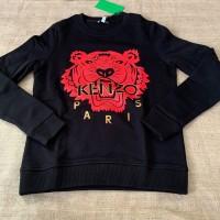 Baju kenzo tiger sweatshirt black CNY edt authentic asli original