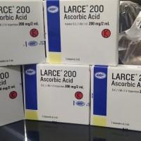 Larce suntik injeksi vitamin c 200 mg notifikasi bpom