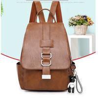 tas ransel wanita Backpack punggung import Sekolah Kuliah Kerja 104