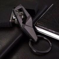 gantungan kunci pinggang mobil motor rumah stylish buckle keychain