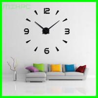 Jam Dinding Besar DIY Giant Wall Clock 80-130cm