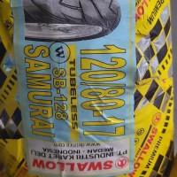 ban motor tubeless swallow 120/80-17