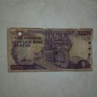Uang Kertas Kuno rp. 10.000