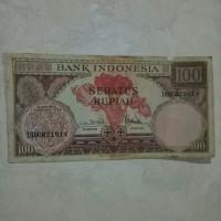 Uang Kertas Kuno rp. 100