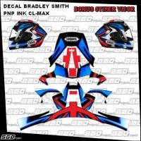 Stiker Decal Helm Motif Bradley Smith PNP INK CL Max Full