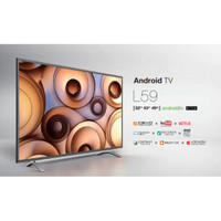 LED TV TOSHIBA 32 INCH SMART ANDROID - 32 L 5995 FREE ONGKIR SBY