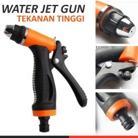 Water Gun Spray Pompa DC High Pressure Tekanan Tinggi - Orange