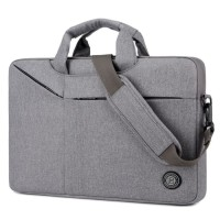 Tas Laptop Selempang BRINCH Slim Messenger Bag 15.6 inch - GREY