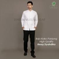 Baju Koko Lengan Panjang High Quality - Ressy / Syahdika