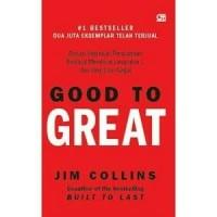 Buku Good to Great   Jim Collins (Bisnis) (Best Seller)