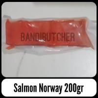 Ikan Salmon Atlantik Fillet Steak Murah / Ikan Salmon Kualitas Norway