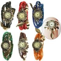 Jam tangan trend korea tali fashion gelang cewek perempuan wanita