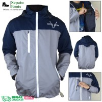 Jaket Gunung Waterproof / Jaket uniqlo / Jaket Taslan mirip Eiger H&M