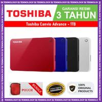 Toshiba Canvio Advance 1TB - HDD / HD / Hardisk /Harddisk External 2.5