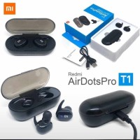 Headset Bluetooth Xiaomi Redmi Airdots Pro T1 TWS Earphone Earbud