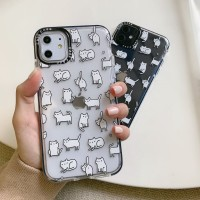Casetify Cat White Case Iphone 7 7+ 8 8+ X XS MAX XR 11 PRO MAX