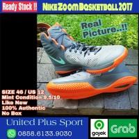 NIKE ZOOM BASKETBALL 2017 Size 46 Authentic Original