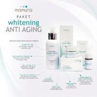 Whitening Antiaging Cream Mamutta Pemutih Pelembab Pencerah Wajah BPOM